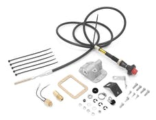 Alloy USA 450450 Differential Cable Lock Kit; 85-93 Dodge Ramcharger