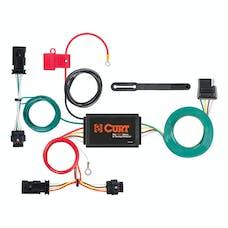 CURT 56354 Custom Wiring Harness (4-Way Flat Output)