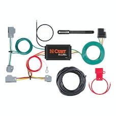 CURT 56355 Custom Wiring Harness (4-Way Flat Output)