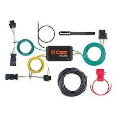 CURT 56369 Custom Wiring Harness (4-Way Flat Output)
