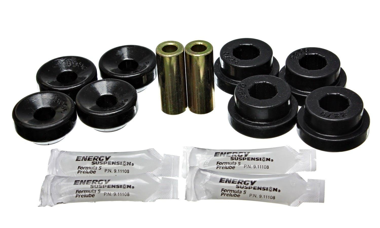w//2 Bushings Black Universal Shock Eyes Standard Straight Eye Style ID 5//8 in L-1 7//16 in