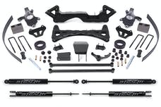 Fabtech K1000M 6in. PERF SYS W/STEALTH 00-06 GM K1500 P/U 4WD