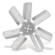 "Flex-A-Lite 4817 Belt Driven Flex Fan 17"" 7-Leg/Silver"
