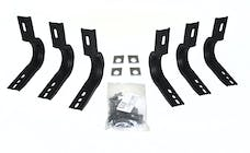 "Big Country Truck Accessories 394015 Brackets for 4"", 5"" & 6"" WideSider Bars - Cab Length"