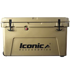 Iconic Accessories 810-1070 70QT Cooler Box with Aluminum T-Track, Outer size:31.5x19x18.1