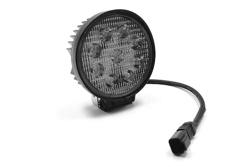 "Iconic Accessories 511-1041 4.5"" Round LED Spot Light (30° Spot, 2,430 lm, Chrome Face)"