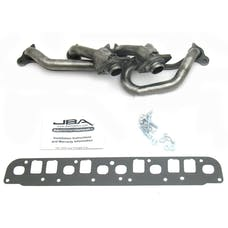 "JBA Performance Exhaust 1527S 1527S 1 1/2"" Shorty Stainless Steel 00-06 Jeep Wrangler"