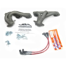"JBA Performance Exhaust 1528SJT 1528SJT 1 1/2"" Shorty Stainless Steel 07-11 Jeep 3.8L Ti"