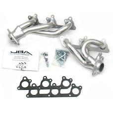 """JBA Performance Exhaust 1617SJS 1617SJS 1 1/2"""" Shorty Stainless Steel 05-10 Mustang V6 S"""