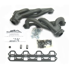 """JBA Performance Exhaust 1627S-1JT 1627S-1JT 1 1/2"""" Shorty Stainless Steel 86 and 96 Ford T"""