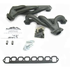"""JBA Performance Exhaust 1627SJT 1627SJT 1 1/2"""" Shorty Stainless Steel 87-95 Ford Truck 5"""