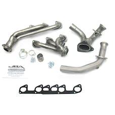 """JBA Performance Exhaust 1634S 1634S 1 1/2"""" Shorty Stainless Steel 95-97 Ranger 4.0L V-"""
