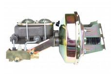 LEED Brakes 3E1A3 9 in Power Booster ,1-1/8in Bore, side valve disc/disc (Zinc)