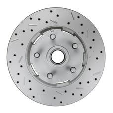 LEED Brakes 5406001 RCDS Rotor Right side Cross drilled and slotted
