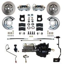 LEED Brakes FC0003-X405M Power Front Disc Brake Conversion Kit - Manual Transmission