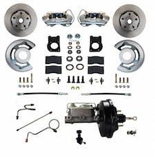 LEED Brakes FC0004-W405 Power Front Disc Brake Conversion Kit