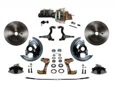 LEED Brakes FC1002-M105 Power Front Disc Kit - 8 in - Adj Valve - Zinc