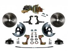 LEED Brakes FC1002-M1A1 Power Front Disc Kit - 8 in - Disc Drum - Zinc
