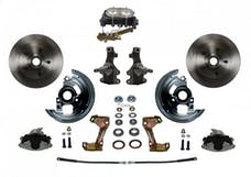 LEED Brakes FC1003-3A3 Manual Front Disc Conversion Kit - Disc/Disc