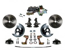 LEED Brakes FC1003-E1A3 Power Front Disc Kit - 9 in - Disc Disc - Zinc