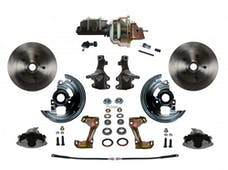 LEED Brakes FC1003-M105 Power Front Disc Kit - 8 in - Adj Valve - Zinc