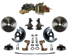 LEED Brakes FC1003-M1A1 Power Front Disc Kit - 8 in - Disc Drum - Zinc