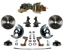 LEED Brakes FC1003-M1A3 Power Front Disc Kit - 8 in - Disc Disc - Zinc
