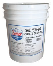 Lucas Oil 10072 Synthetic SAE 75W-90 Trans & Diff Lube