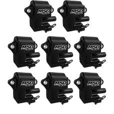 MSD Performance 828583 Coils,BLACK,GM LS Series (LS-1/6), 8-Pk