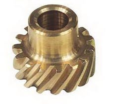 MSD Performance 8583 Distributor Gear, Bronze, Ford, 302
