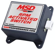MSD Performance 8950 Switch Kit, RPM Activated