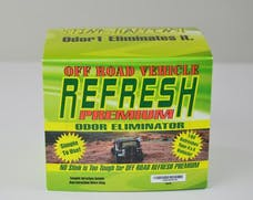 Odor 1 846100 Off-Road Refresh Premium CLO2 Permanent Odor Eliminator, 4 Color, EPA Approved