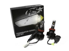 Race Sport Lighting H13TLED Terminator Series H13 Fan-Less Led Conversion Headlight Kit