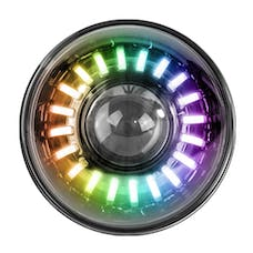 Race Sport Lighting RS990RGB-S 7in ColorSMART® RGB High Power Projector LED Headlights