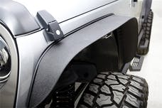 Rampage Products 867981 Trail Flares 4 pc, Textured Black Powder Coated Finish
