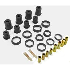 Rugged Ridge 1-202BL Front Control Arm Bushing Kit; Black; 84-01 Jeep Cherokee XJ