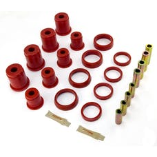 Rugged Ridge 1-203 Control Arm Bushing Kit, Front, Red