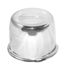 Rugged Ridge 15201.52 Wheel Center Cap; Chrome; 5x4.5