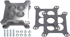 "Trans Dapt Performance 2432 2"" HOLLEY/AFB 4BBL- Cast Aluminum SWIRL-TORQUE Carburetor Spacer"