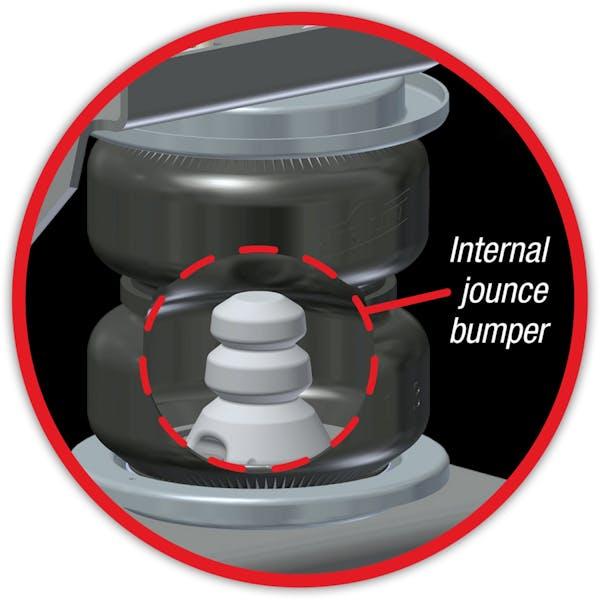 Air Lift 88399 LoadLifter 5000 Ultimate air spring kit w/internal jounce bumper