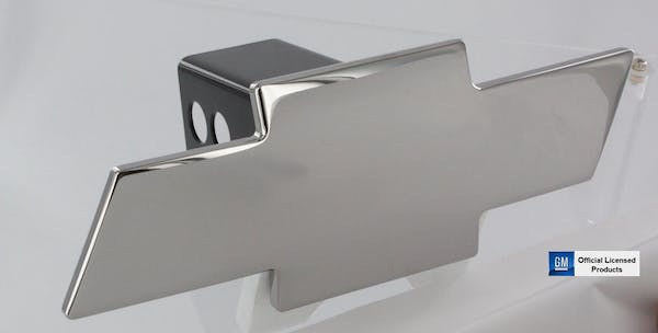 AMI Styling 1036C AMI HITCH COVER BOWTIE CHROME