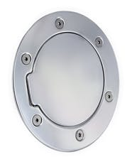 AMI Styling 6041P AMI Race Style Billet Fuel Dr 6 14/16in. Ring O.D. 4 1/2in. Door O.D.-Polished