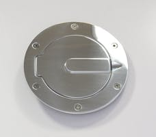 AMI Styling 6047P AMI Race Style Billet Fuel Dr 6 1/2in. Ring O.D. 4 1/2in. Door O.D.-Polished