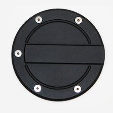 AMI Styling 6159K AMI Race Style Billet Fuel Dr 6 1/4in. Ring O.D. No Door-Flat black Door