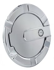AMI Styling 6901PL AMI Striker Style Billet Fuel Dr 7 1/8in. Ring O.D. 5 1/8in. Door O.D.-Polished