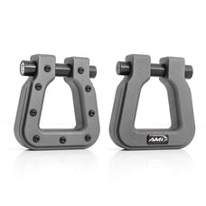 AMI Styling 8812AM-2 Demon V2- Square D-Ring Anthracite Metallic