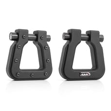 AMI Styling 8812TK-2 Demon V2- Square D-Ring Tactical Black
