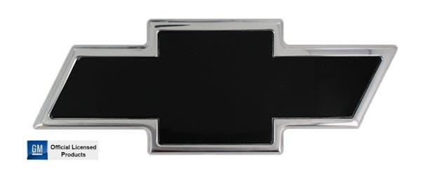 AMI Styling 96095KP AMI CHEVY BOWTIE TAILGATE EMBLEM-POLISHED/BLACK POWDERCOAT