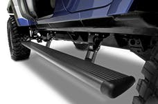AMP Research 75122-01A Jeep Wrangler JKU PowerStep Electric Running Boards Black