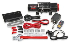 Anvil Off-Road 4510AOR 12V WINCH 4500 LBS - ROPE